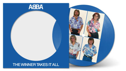 The Winner Takes It All/Elaine picture disc single